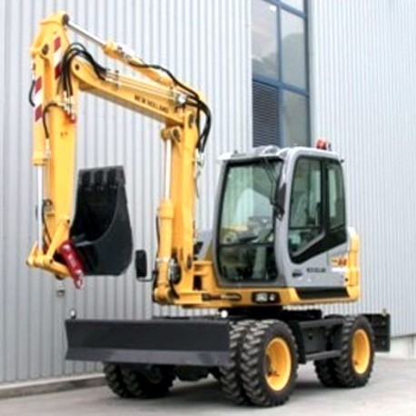 New Holland Excavator MH2.6, MH3.6 Service Manual / Repair Manual - Wiring