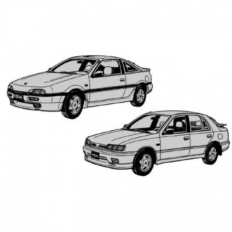 Nissan Sentra B13 (Sedan and Coupe) and N14 Service Manual / Repair Manual