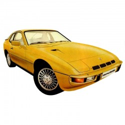 Porsche 924 (1976-1988) - Service Manual - Wiring Diagram - Parts Manual