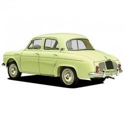Renault Dauphine, Gordini, Manual de Taller y Despiece