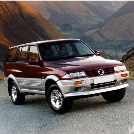 Ssangyong Musso Service Manual / Repair Manual