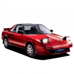 Toyota MR2 MK1 Service Manual - Wiring Diagram
