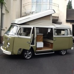 Volkswagen Campmobile T2 Operating Instructions