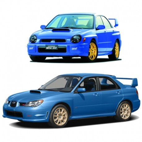 Subaru Impreza All Models (2002-2007) - Service Manual - Wiring Diagram