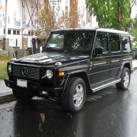 Mercedes G-Class (W463) - Service Manual / Repair Manual