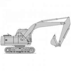 Daewoo Solar S130LC-V Excavator - Service Manual / Repair Manual