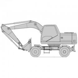 Daewoo Solar S180W-V Excavator - Service Manual / Repair Manual