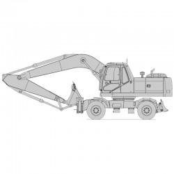 Daewoo Solar S200W-V Excavator - Service Manual / Repair Manual
