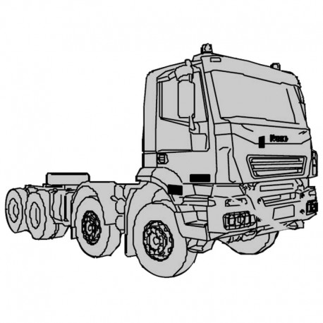 Iveco Trakker (Euro 4-5) - Service Manual - Wiring Diagram