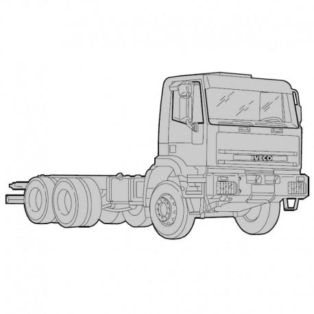 Iveco Eurotrakker Cursor 8 y Cursor 13 - Manual de Taller - Esquemas Electricos