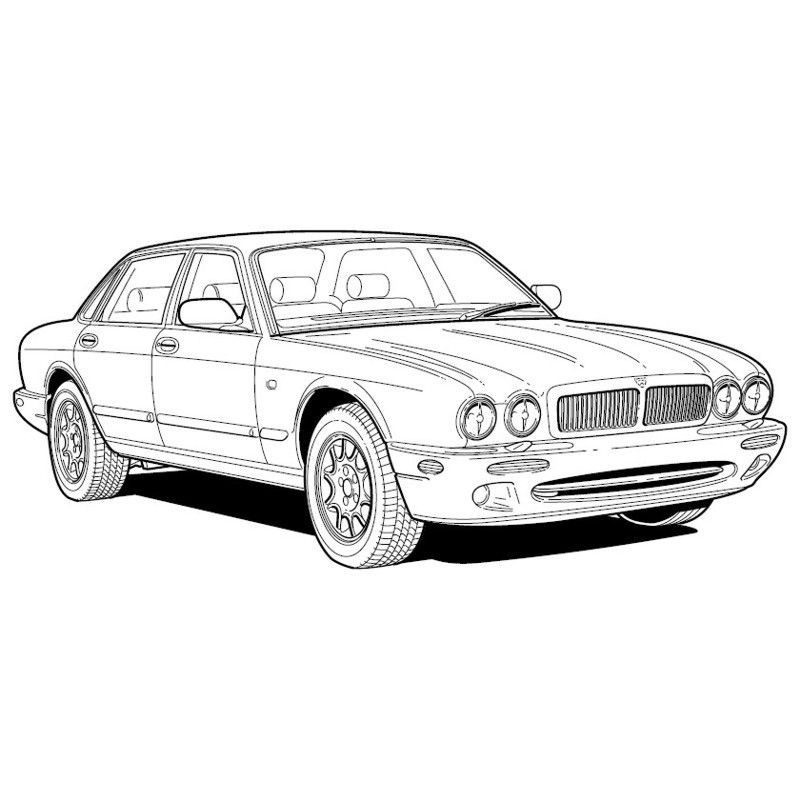 Jaguar Xj Series Sedan 1996 - Electrical Guide
