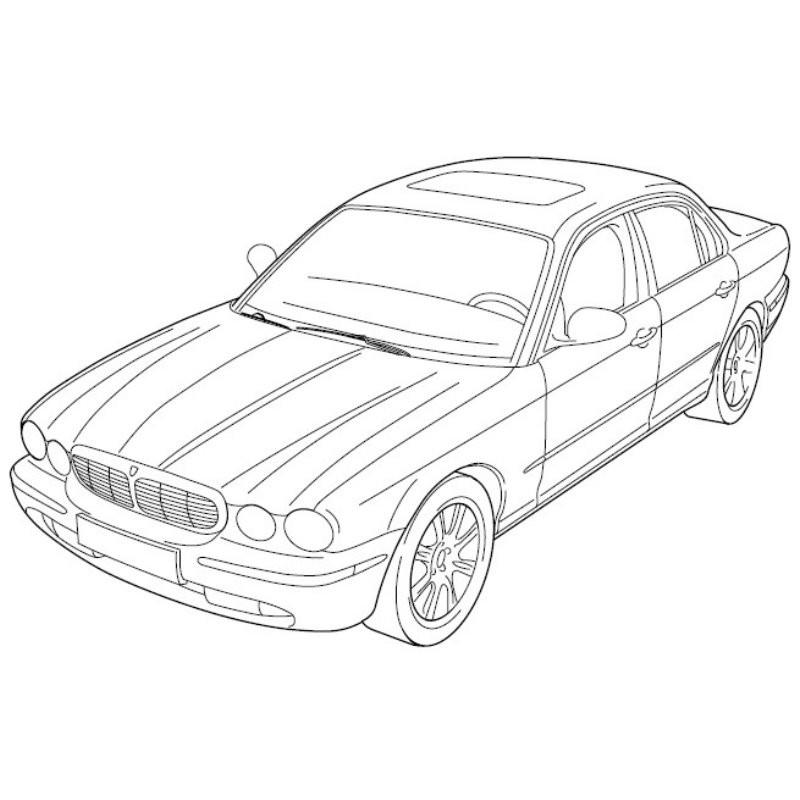 Jaguar New Xj Series Sedan 2005