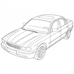 Jaguar New XJ Series Sedan 2003 - Electrical Guide - Wiring Diagrams