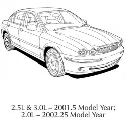 Jaguar X-Type 2001 & 2002 - Electrical Guide - Wiring Diagrams