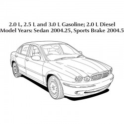 Jaguar X-Type 2004 - Electrical Guide - Wiring Diagrams