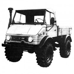 Mercedes Unimog 411 - Service Manual