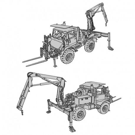 Mercedes Unimog Tractor Wheeled 4x4 DED - Operator's Manual