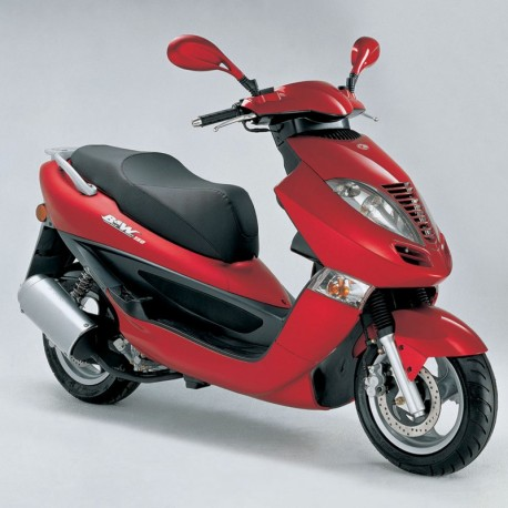 Kymco B&W (Bet and Win) 125-150 - Manual de Uso y Mantenimiento