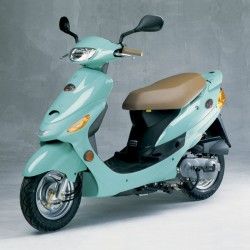 Kymco Filly 50 - Spare Parts Catalogue / Parts Manual
