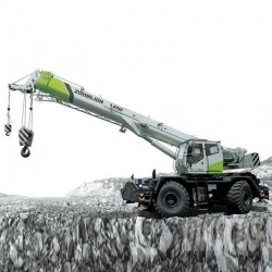 Zoomlion RT55 Rough Terrain Crane  - Load Chart Manual