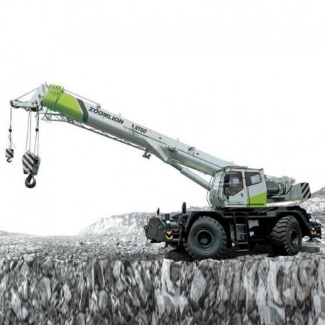 Zoomlion RT60 Rough Terrain Crane - Load Chart Manual