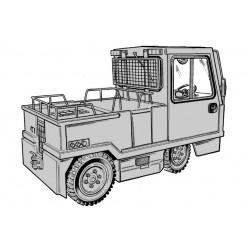 Linde Elektro-Schlepper P200 - Betriebsanleitung
