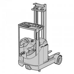 Linde R14 / R16 / R20G Elektro-Schubmaststapler - Originalbetriebsanleitung
