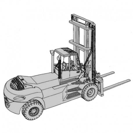 Linde Stapler H 120, H 140, H 160 - Betriebsanleitung
