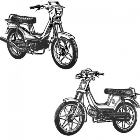 Derbi Variant 50 - Spare Parts Catalogue / Parts Manual