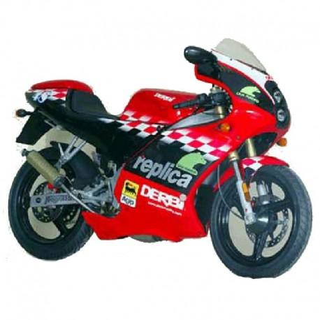 Derbi 50 6 Speed GPR Racing - Service Manual / Repair Manual - Wiring Diagram