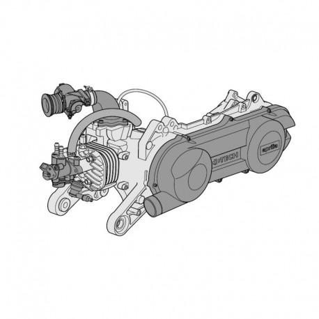 Aprilia Ditech Engine - Service Manual - Manual de Taller