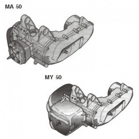 Aprilia MA 50 and MY 50 Engine - Service Manual / Repair Manual