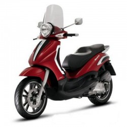 Piaggio Beverly Tourer 125 - Service Manual - Wiring Diagrams - Owners Manual