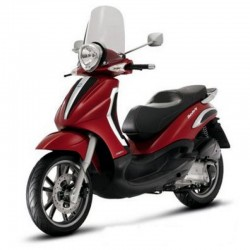 Piaggio Beverly Tourer 250ie -  Service Manual - Wiring Diagrams - Owners Manual