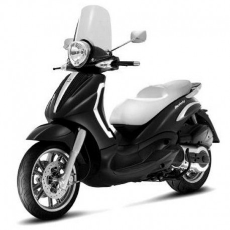 Piaggio Beverly Tourer 400ie -  Service Manual - Wiring Diagrams - Owners Manual