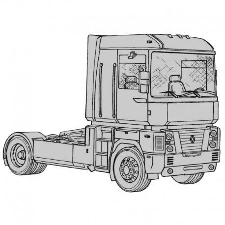 Renault Magnum - Service Manual / Repair Manual - Wiring Diagrams