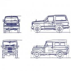 Nissan Patrol MQ MK (1959-1989) - Service Manual, Repair Manual