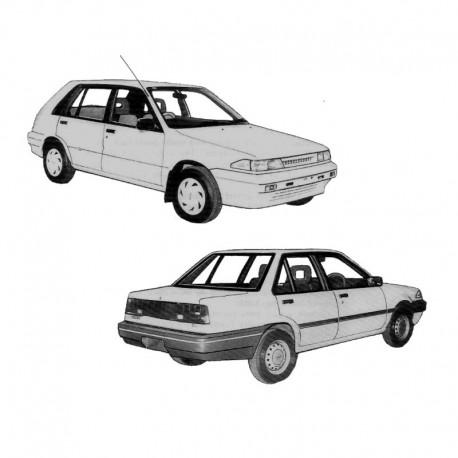 Holden Pulsar (N13) & Astra (LD) - Service Manual / Repair Manual