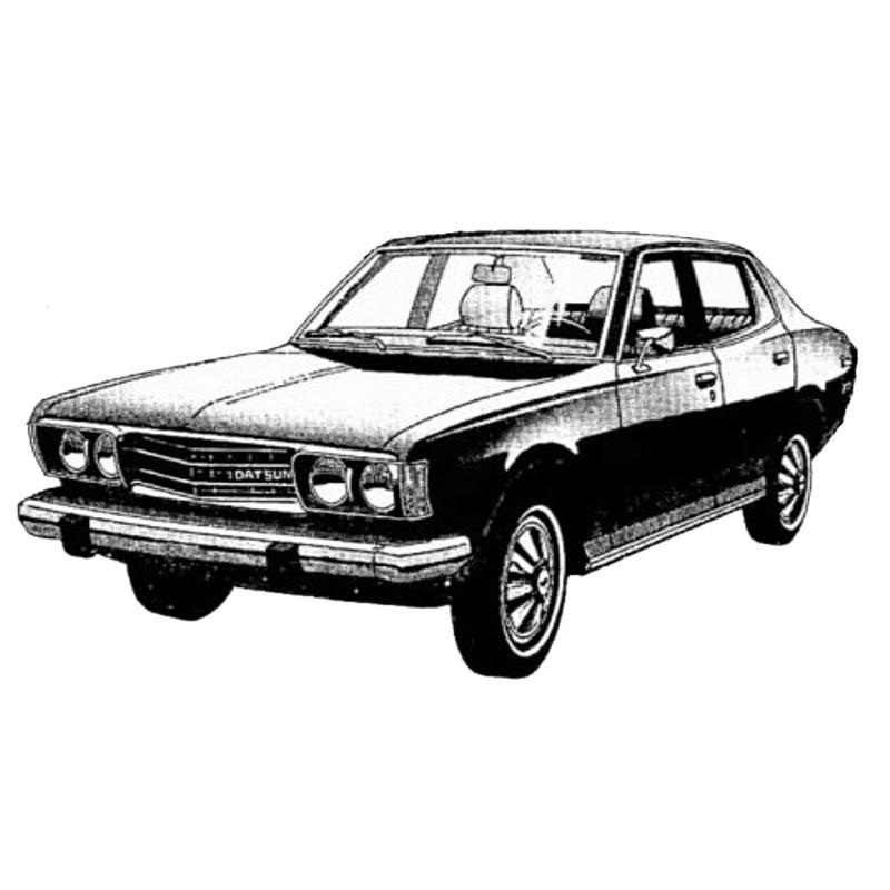 Datsun 610 - Service Manual / Repair Manual - Wiring Diagrams