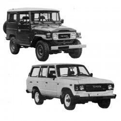 Toyota Land Cruiser (BJ & HJ) - Service Manual - Manuel de Reparation