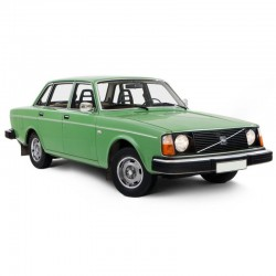 Volvo 240 - Service Manual - Wiring Diagrams - Owners Manual