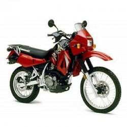 Kawasaki KLR650 / KLR500 - (1987-2007) - Service Manual / Repair Manual - Wiring Diagrams