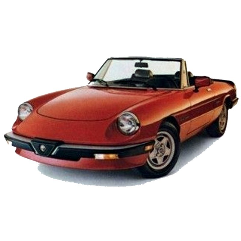 Alfa Romeo Spider  1983-1989  - Service Manual - Manuale Di Officina - Parts