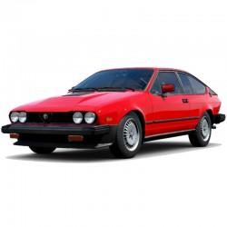 Alfa Romeo GTV-6 (1983-1986) - Service Manual / Repair Manual - Wiring Diagrams