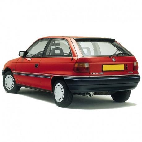 Opel Astra F - English, Russian & Hungarian Service Manual / Repair Manual
