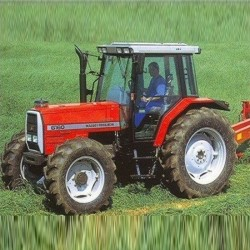 Massey Ferguson Tractor MF 6100 Series - Service Manual / Repair Manual