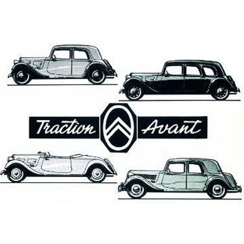 Citro U00ebn Traction Avant - Service Manual    Repair Manual - Wiring Diagrams
