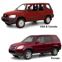 Honda CR-V (1997-2002) - Service Manual - Wiring Diagrams - Body Repair Manual