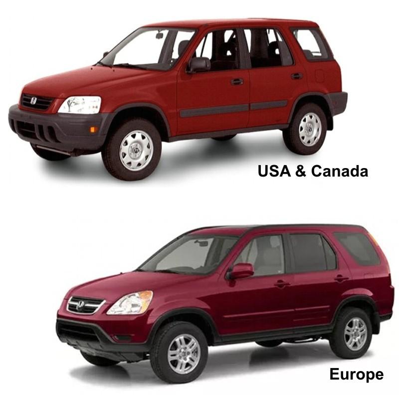 Honda Cr-v  1997-2002  - Service Manual