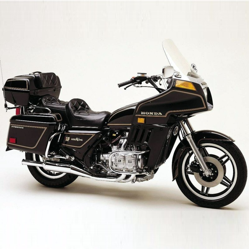 Honda Goldwing  Gl1100  - Service Manual    Repair Manual - Wiring Diagrams